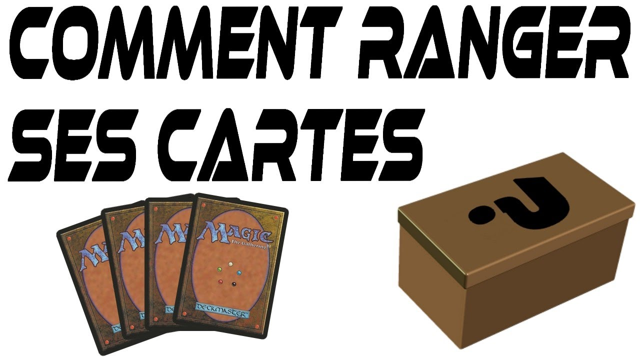 Comment ranger ses cartes youtube - Comment ranger ses colliers ...
