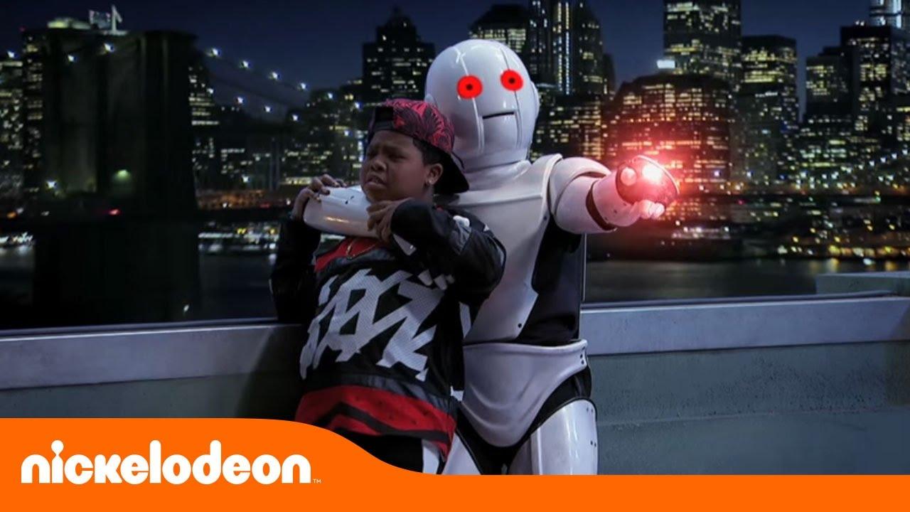 Game Shakers   Un robot fuera de control   Nickelodeon en Español