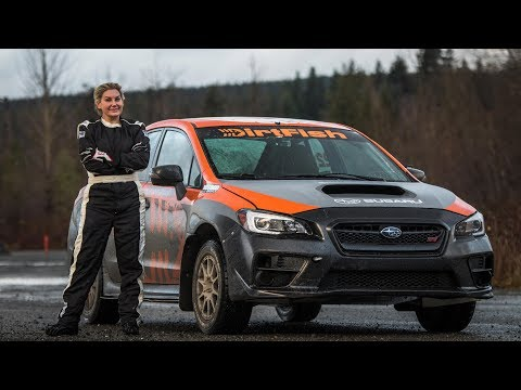 Female Rally Driver in Training - Janette Ewen