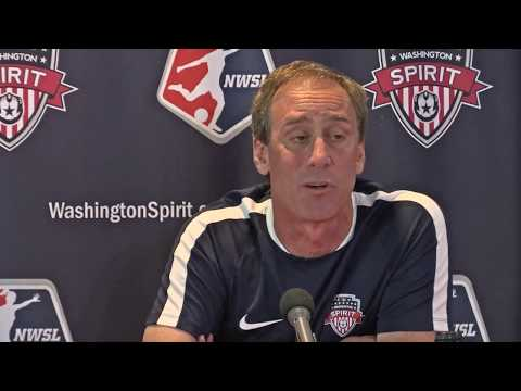 Washington Spirit Head Coach Jim Gabarra Introduces Mallory Pugh at News Conference