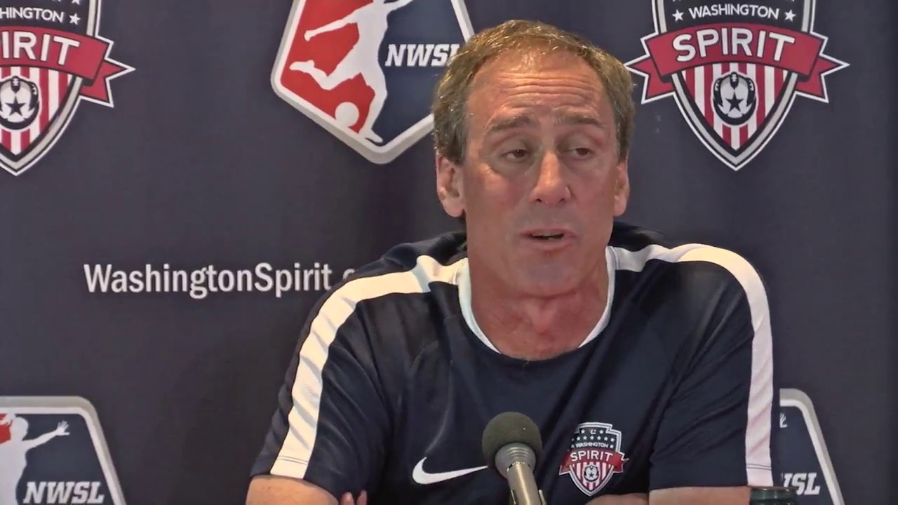 Washington Spirit Head Coach Jim Gabarra Introduces Mallory Pugh