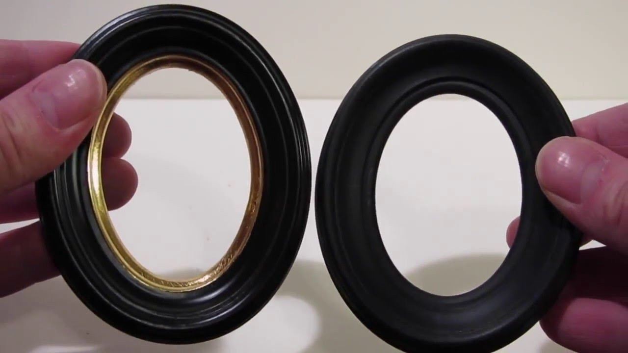 Cameo Creeps Product Sneak Preview- Miniature Frames Wood VS Plastic