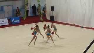 Юность России,групповое упражнение, 2 ротация