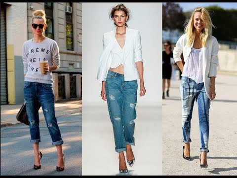 57812e53d40f Casual Jeans For Women Spring Summer 2019 - YouTube