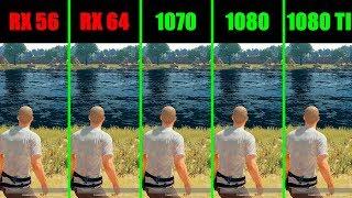 PUBG 1080 TI Vs AMD RX Vega 64 Vs