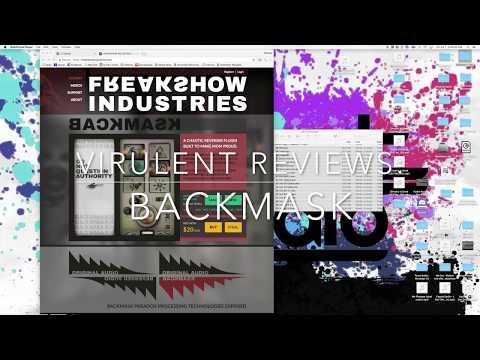 Virulent Reviews: Freakshow Industries' BackMask