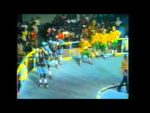 (1973) Roller Derby Chiefs vs Jolters HD1080p