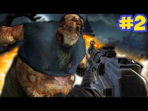 """HUGE OGRE BOSS ZOMBIE!"" -  Call of Duty Zombies ""COLLINGWOOD"" Custom Map FINALE!"