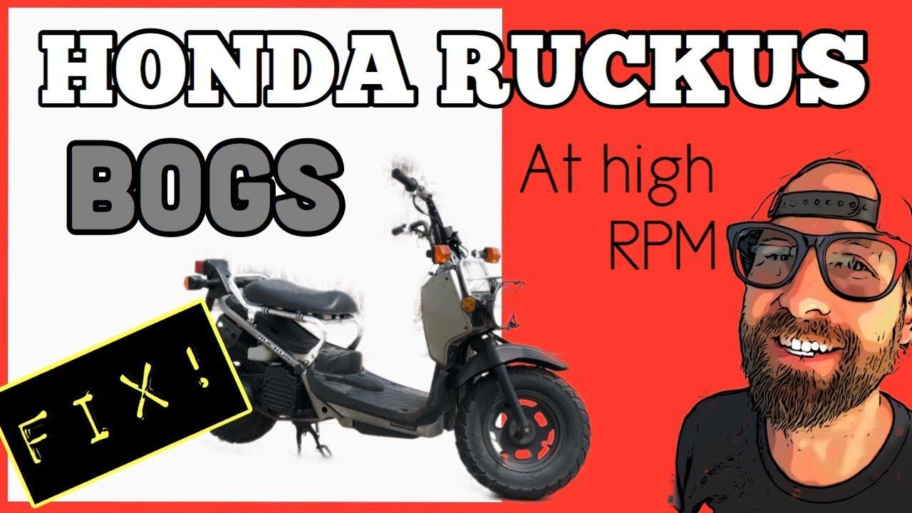 My Honda Ruckus Bogs at high RPM: FIX!