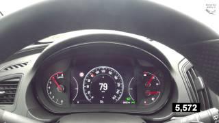 Opel Insignia Country Tourer  0-100 km/h (235/55/18 Pirelli Ice Zero) + 200 kg (Full tank)