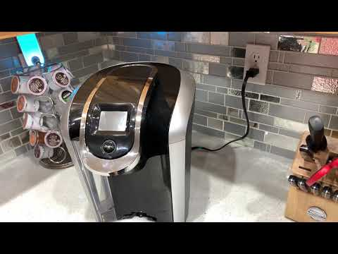 How to clean the needle on your Keurig machine