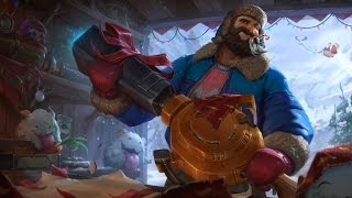 Snow Day Graves ADC PBE Gameplay
