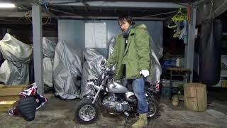 ホンダ:モンキー(2002)キタコボアアップカスタム車88cc参考動画