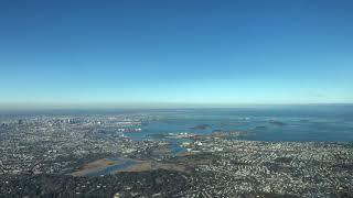 4K UHD LANDING AT BOSTON LOGAN AIRPORT RWY 04R