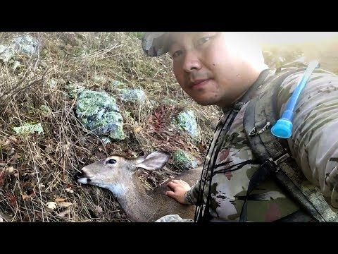 A Zone Hunting Success! California Doe Hunt With Muzzleloader Solo Hunting On Public Land