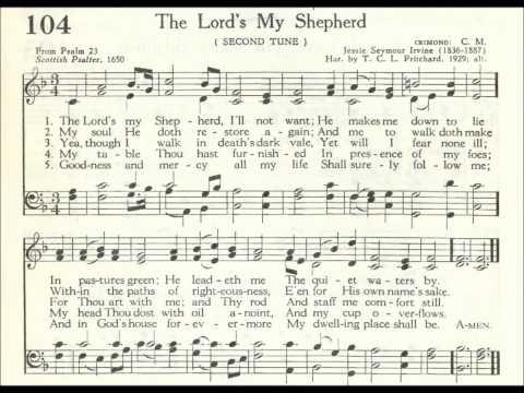 The Lord's My Shepherd (Crimond)