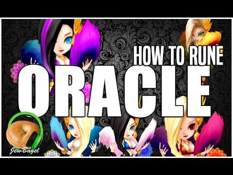 SUMMONERS WAR : How to Rune ORACLE (Seara, Praha, Juno, Laima, Giana)