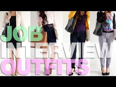 What To Wear To A Job Interview - Office, Fashion Retail, Fast Food, Creative