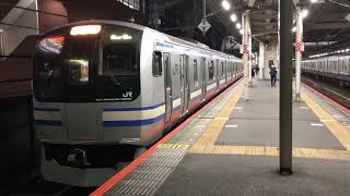 E217系クラY-5編成+クラY-113編成千葉発車