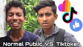 Normal Public VS. TikToker l Bangla Funny Video l AppleSquad Official l Nobel l Shawon