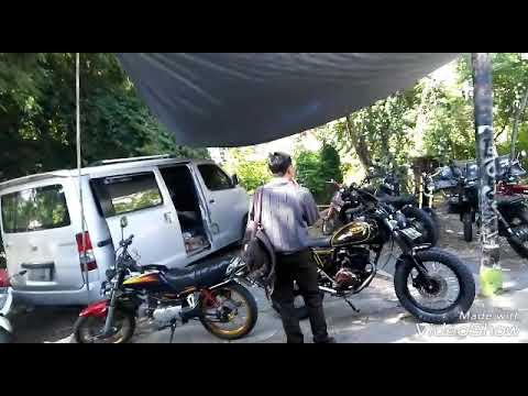 murah bisa dapet motor custom?cuma di Bojes Custom semarang