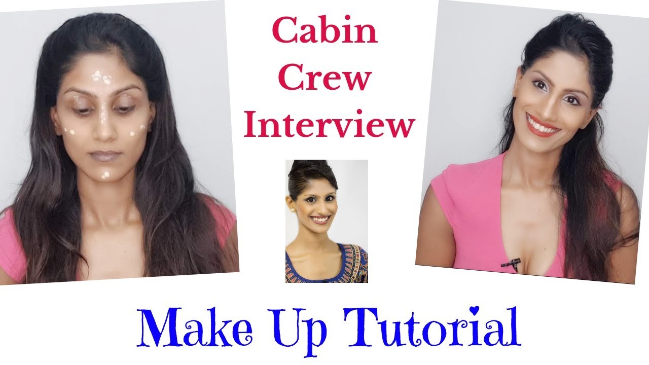 makeup for interview / cabin crew / flight attendant / singapore airlines