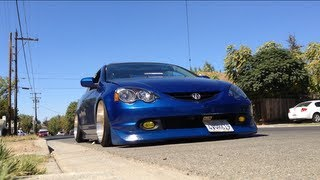 ish s acura rsx type s stance slammed static