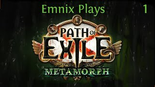 Let's Play: Path Of Exile - Metamorph League HCSSF - Episode 1 - Awakener Kill Event!