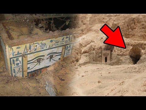 Ägyptischer Sarkophag Mit 4000 Jahre Alter Unterweltkarte Entdeckt