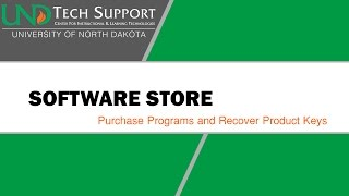 Software Store: Purchase Programs and Recover Product Keys