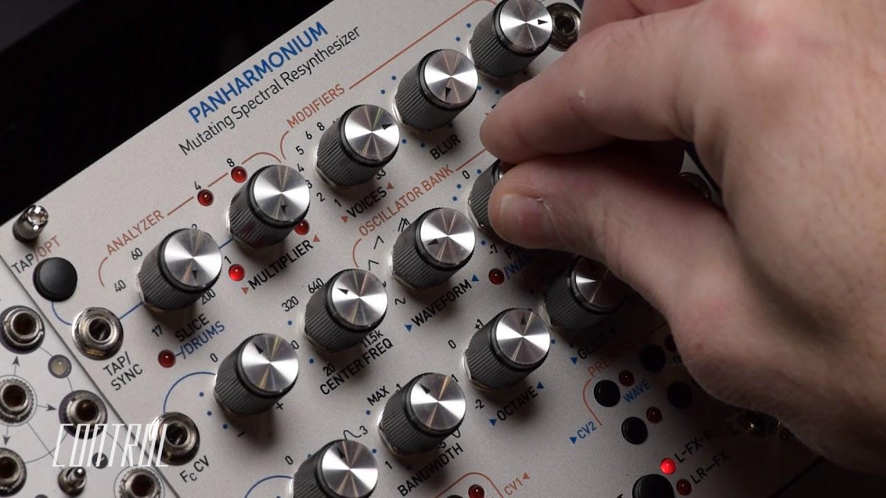 Spectral drums with the Rossum Electro Eurorack Panharmonium Pt.2