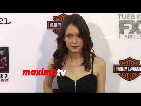 Hayley McFarland  Sons of Anarchy Season 7 Premiere  Red Carpet