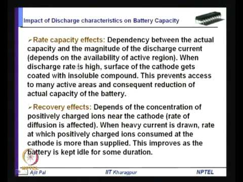 Mod-01 Lec-37 Battery-Driven System Design