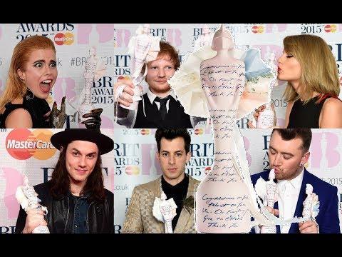 BRIT awards 2015 NOMINEES & WINNERS