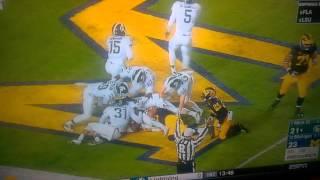 Michgan vs Michigan State FINAL PLAY 2015