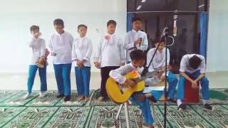"""Before The Show..."""" Insya Allah - Maher Zain Feat Fadly """" Cover By 8- AlFarabi SMPIT Buahati"""
