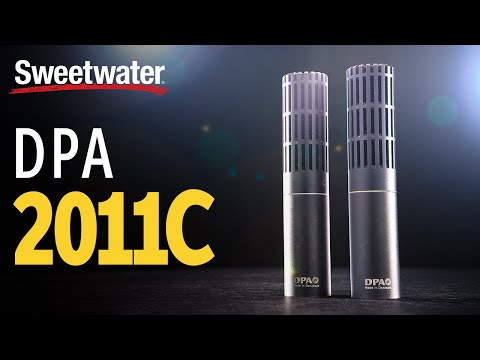 DPA 2011C Twin Diaphragm Condenser Microphone Demo
