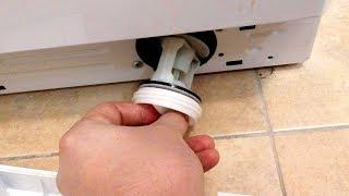 видео Как очистить фильтр насоса стиральной машины LG