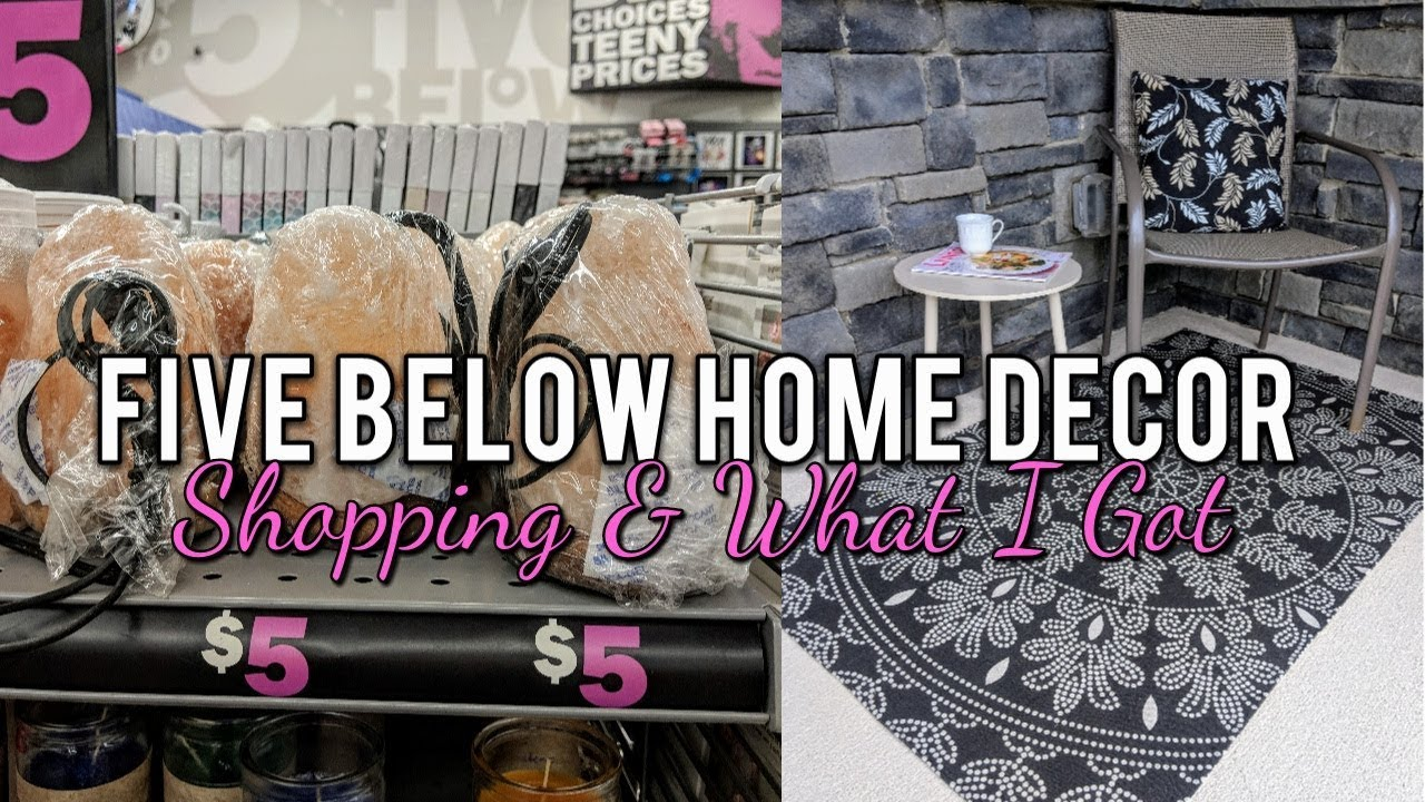 Five Below Home Decor Ping Haul Cute New Finds Summer 2018
