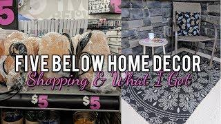 Five Below Home Decor Shopping & Haul! Cute New Finds Summer 2018!