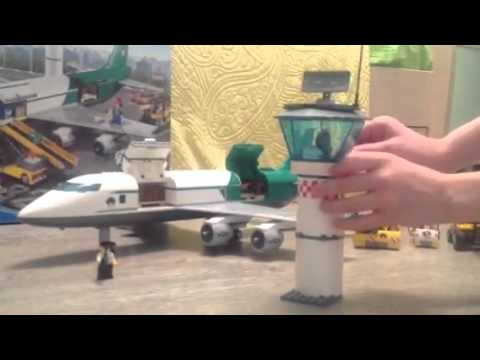 60022 Lego Самолет - Грузовой терминал - YouTube