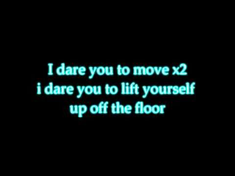 I Dare You To Move By:Switchfoot Lyrics