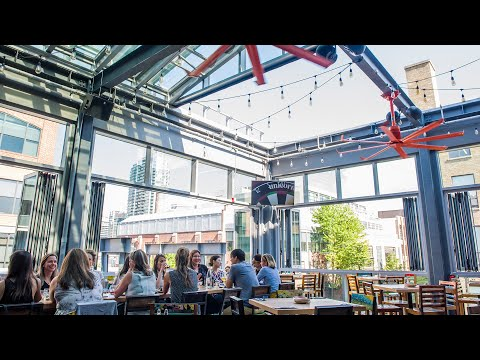 Barcelona Tavern In Toronto Has A Beautiful Rooftop Patio