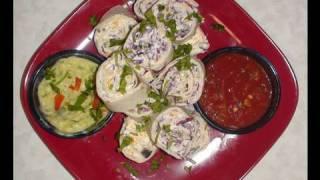 Tortilla Rollups Or Fiesta Roll Ups Recipe Video By Bhavna - Perfect Potluck