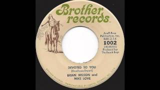 Brian Wilson & Mike Love (Beach Boys) - Devoted To You -