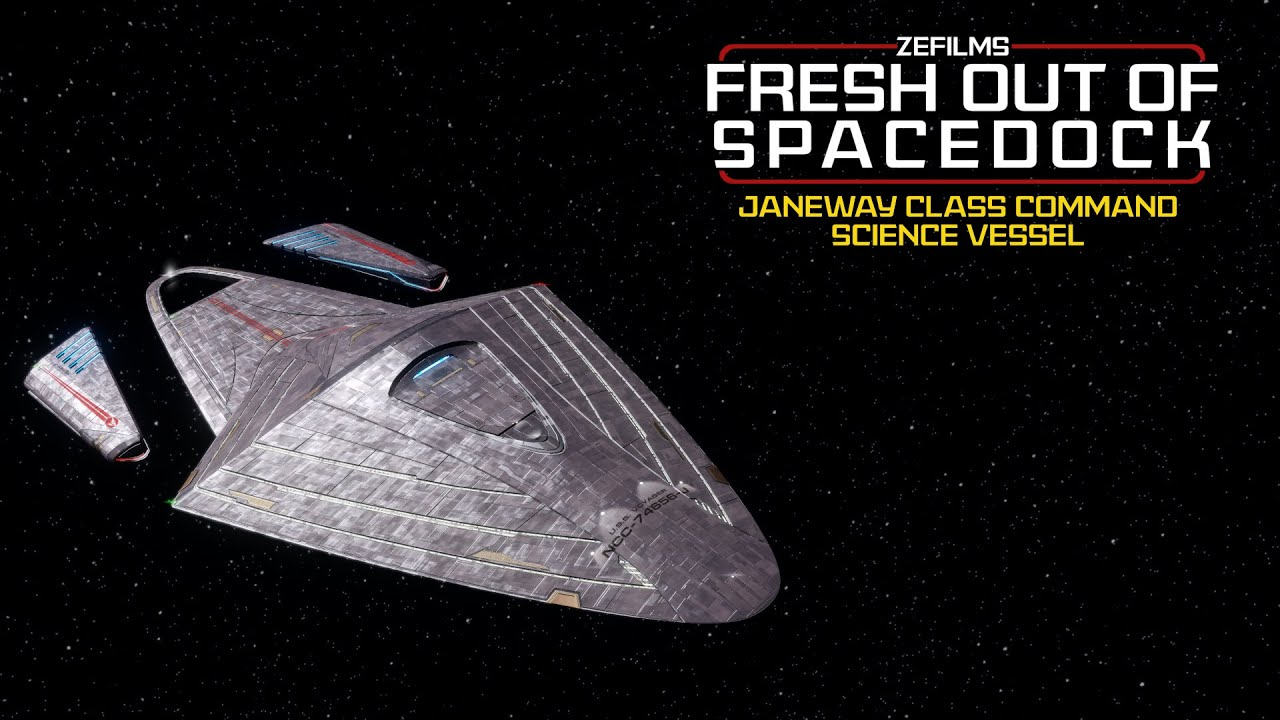 Download Fresh Out Of Spacedock | Janeway Class | USS Voyager J