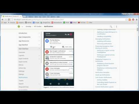 Android App Development for Beginners – 61 – Notifications