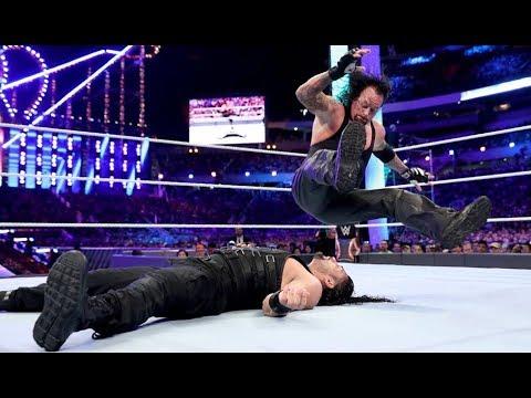 WWE The Undertaker Vs Roman Reigns ( The retirement Match)