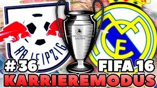 FIFA 16: RB LEIPZIG KARRIERE #36 | RB LEIPZIG vs REAL MADRID!? MEHR PECH GEHT NICHT!?