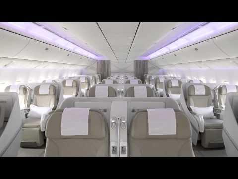 SAUDIA Boeing 777-300 ER new cabin